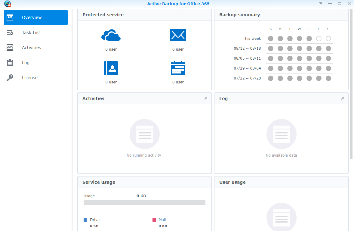 Synology Package Manager Office 365